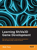 «Learning ShiVa3D Game Development» book cover (thumbnail)