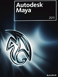 Обложка DVD-диска Maya 2011