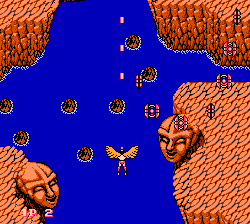 Legendary Wings NES screenshot 1