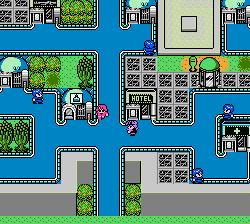 Sted - Iseki Wakusei no Yabou NES screenshot 2