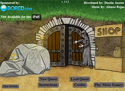 The Enchanted Cave Main Screen