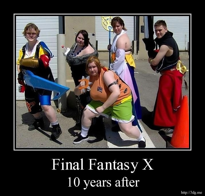 Final Fantasy X - 10 years after